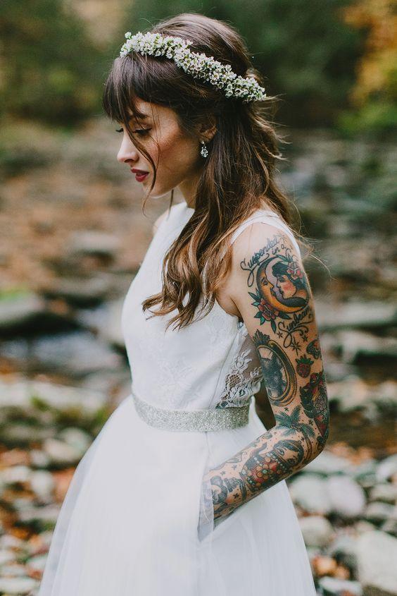 arm pretty tattoos for girls