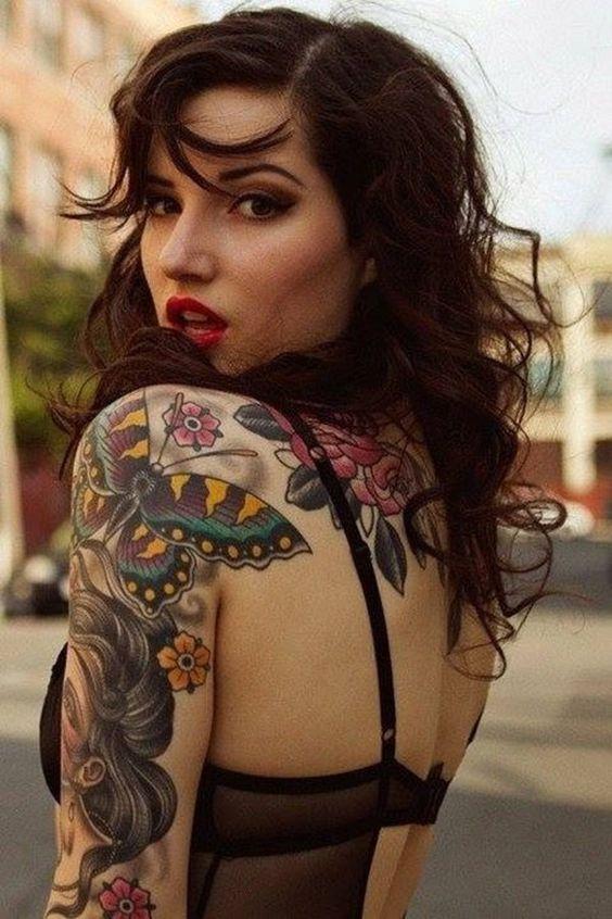 cute tattoo on arm for female