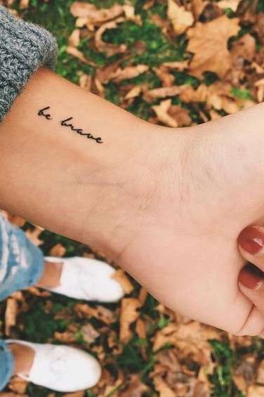 meaningful wrist tattoos for women