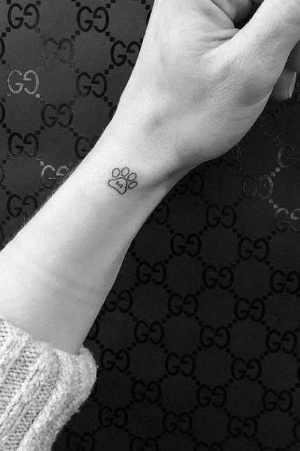 side wrist tattoo for females