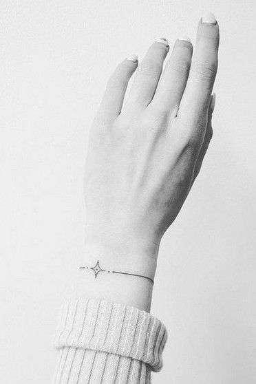 small wrist bracelet tattoos for girls
