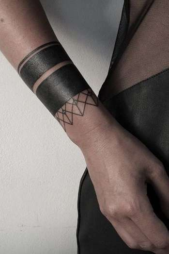 wrist tattoo cover-up for women