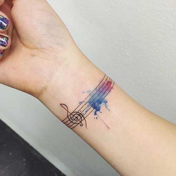 classy wrist tattoos for girl & women
