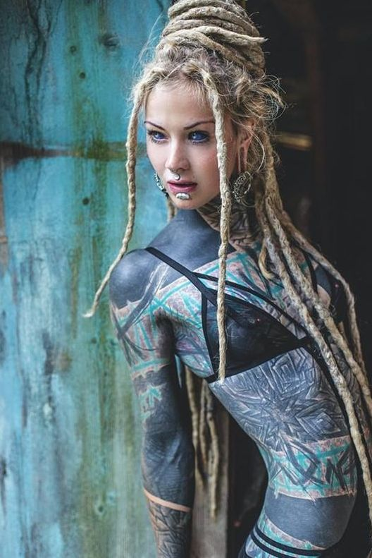 Female full body tattoos