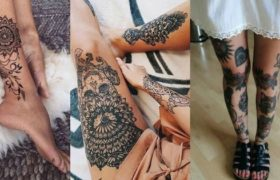 Leg tattoos designs thumbnail