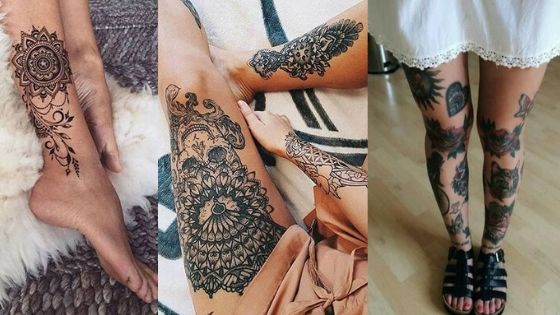 Leg tattoos designs thumbnail