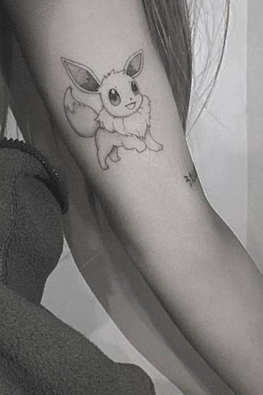 ariana grande tattoo eevee