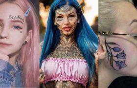 girls face tattoos thumbnail