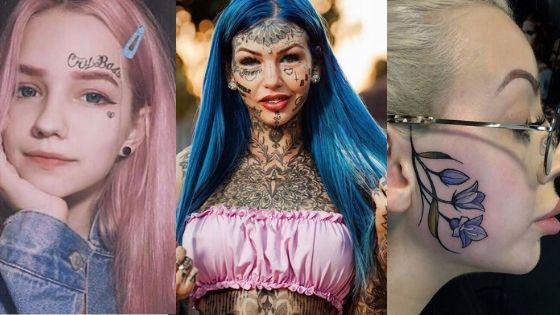 girls face tattoos thumbnail