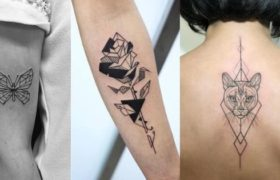 Geometric Tattoos for women