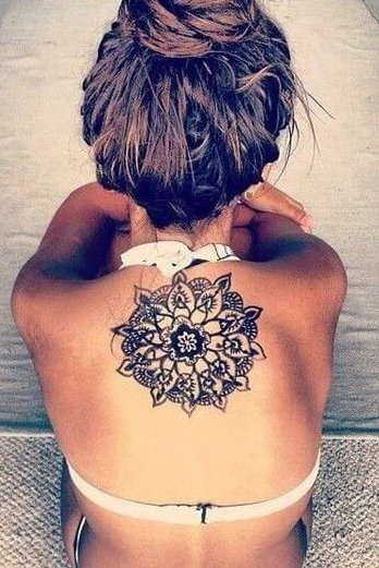 Mandala Tattoo back