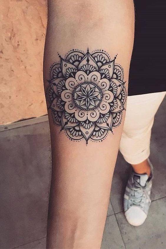Mandala Tattoo sleeve