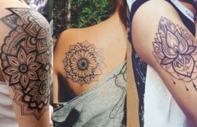 mandala tattoos for women thumbnail