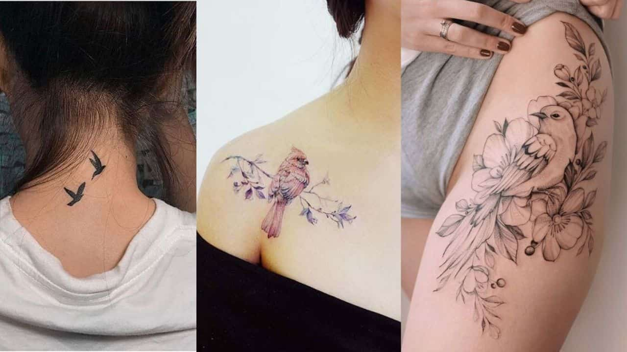 Beautiful Birds Tattoos