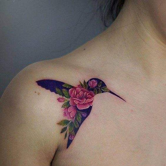 bird tattoos for women on shoulder