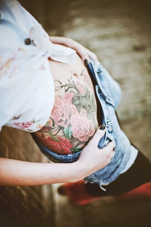 Stomach Tattoos for Women picture