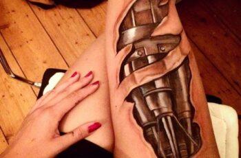 Unique 3D tattoos