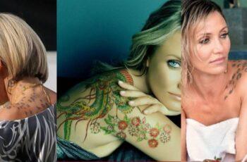 Cameron Diaz Tattoos Feature image