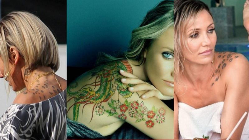 Cameron Diaz Tattoos Feature image