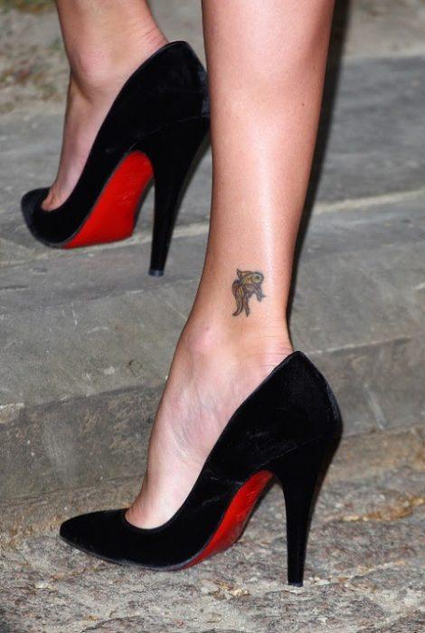 Right Lower Leg Tattoo