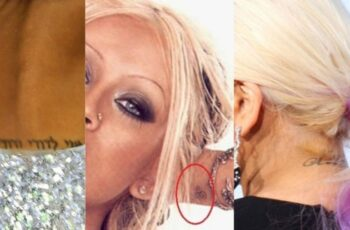 Christina Aguilera Tattoos Feature Image