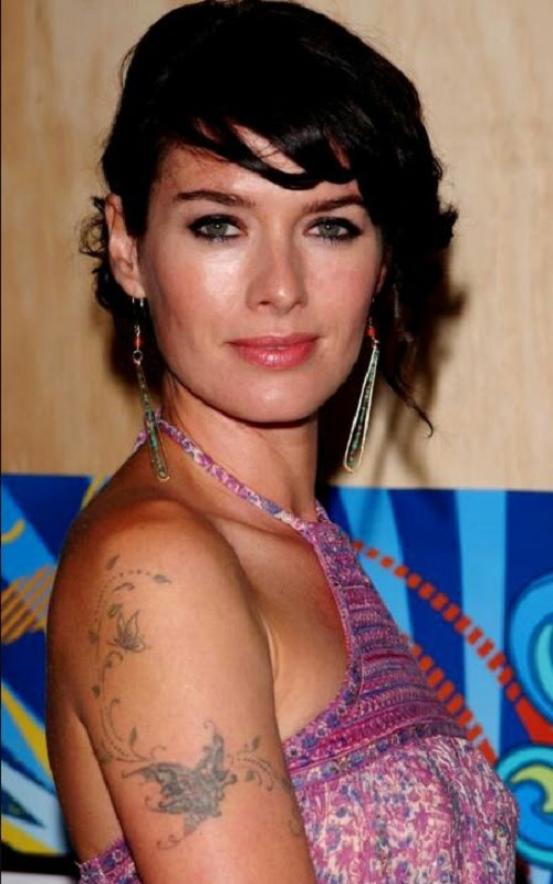 Lena Headey Tattoo Arm