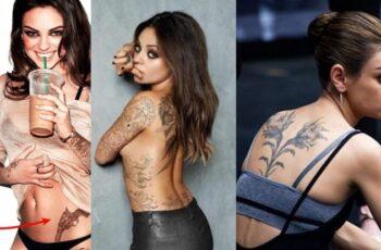 Mila Kunis Tattoos