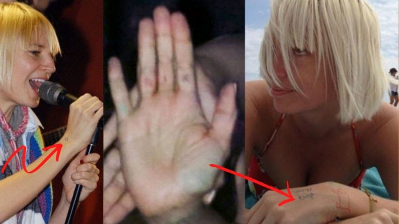 Sia Furler Tattoos Feature Image