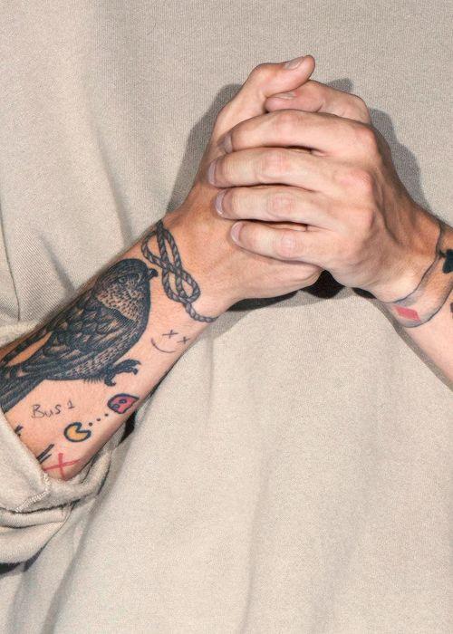 Bus 1 tattoo